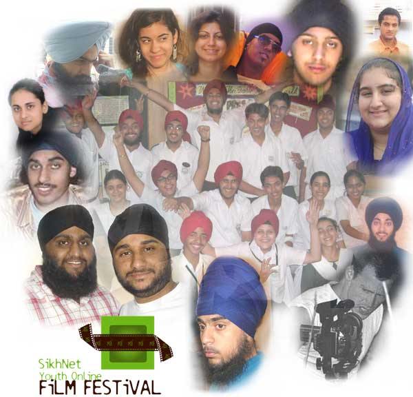 Some of the youth who participated in the SikhNet Youth Online Film Festival